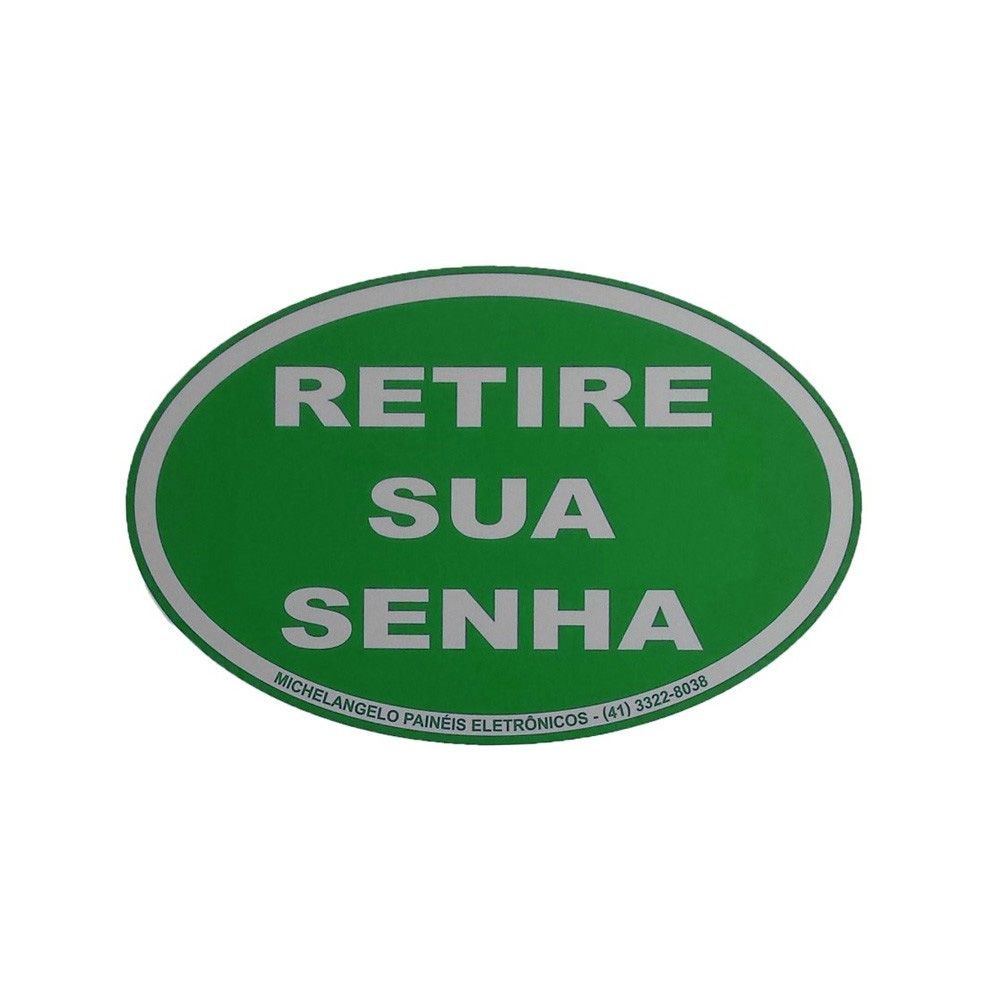 Kit Senha Preferencial