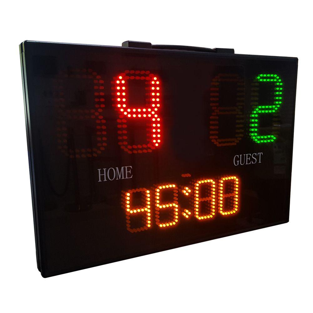 Placar Eletrônico Leaptimer com Cronômetro Progressivo/Regressivo + Controle