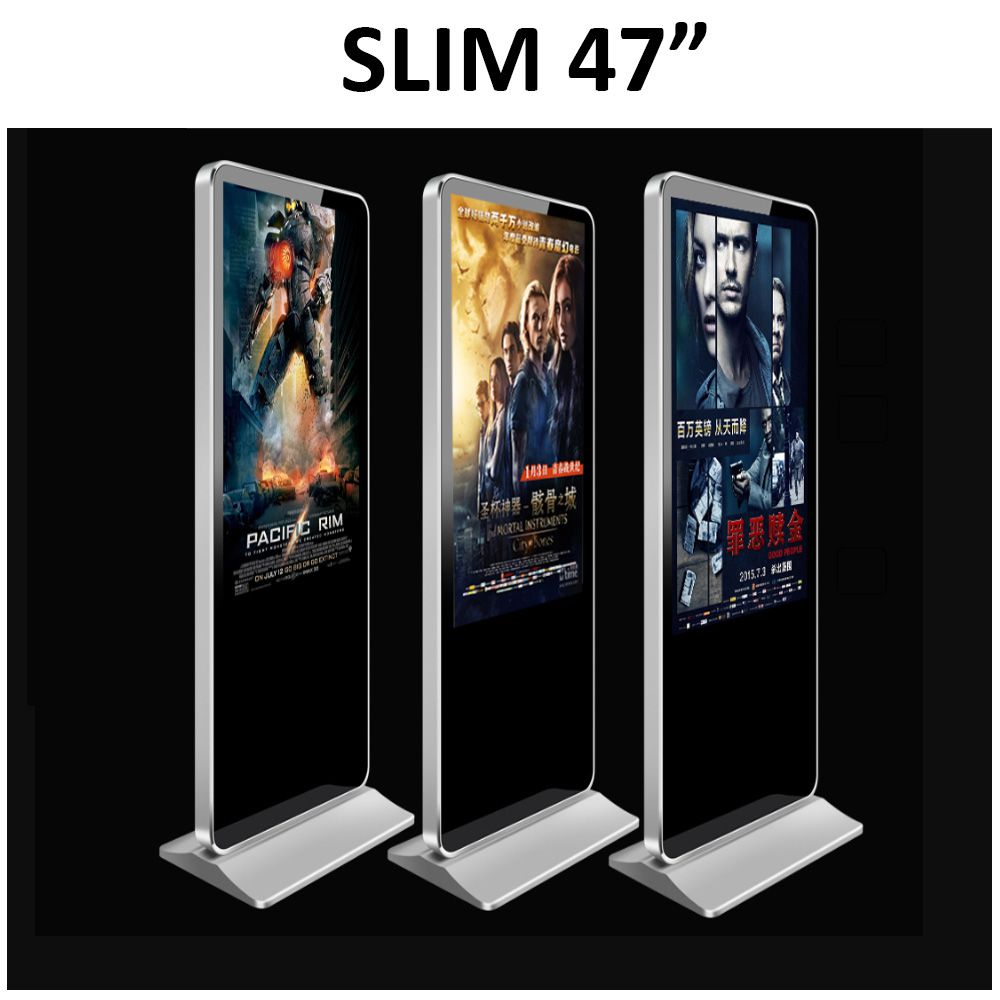 Totem Multimídia Telebiz Slim 47""