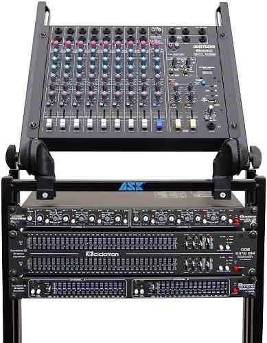 Mesa De Som Ciclotron Amw10 Esd 10 Canais Usb + Controle