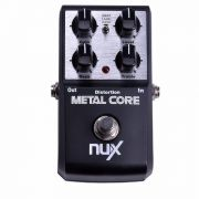 Pedal Distorção Nux Metal Core True Bypass