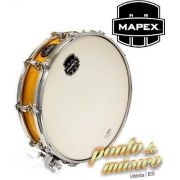 Caixa Bateria Mapex Mpx Maple Piccolo Gloss 14 X 3,5