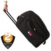 Bag para Caixa Acustica 12 Gator GPA-712 SM com alça e rodas