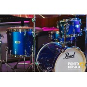 Bateria Acustica Pearl Midtown High Voltage Blue Shell Pack - Outlet Premium
