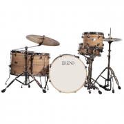 Bateria com 5 pecas - NOGUEIRA - One Series Gray - Legend