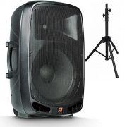 Caixa Ativa Staner 15 Ps1501 200W Rms Usb Bluetooth C/ Rodinha e Tripe