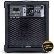 Caixa De Som Amplificada Frahm Mf200 App Usb bluetooth