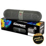 Caixa De Som Maxprint Maxbit Bluetooth 5w Rms Usb E Micro Sd
