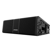 Caixa Line Array Ativo Attack Versa Red VSL206 Preto - Outlet Premium