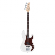 Contra Baixo Strinberg Pbs40 Precision Bass Branco 4 Cordas | Regulado