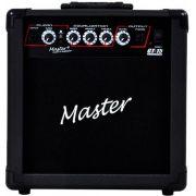 Cubo Amplificador P/ Guitarra Master GT-15 15W Rms