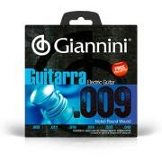 Encordoamento Giannini Guitarra 009 Niquel GEEGST9