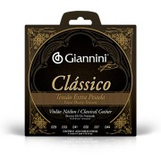 Encordoamento Giannini Violão Nylon 65/35 Extra Pesado GENWXPA