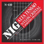 Encordoamento Nig N-410 Alta Tensão Chenille P/ Violão Nylon + Extra