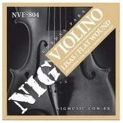 Encordoamento NIG NVE804 P/ Violino