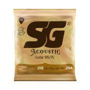 Encordoamento SG Violão Aço 012 Acoustic Bronze 85/15 (9211)