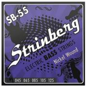 Encordoamento Strinberg Contra Baixo Sb55 5 Cordas
