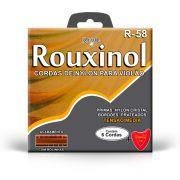 Encordoamento Rouxinol Violão Nylon R58 Com Bolinha