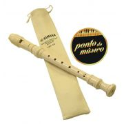 Flauta Yamaha Soprano Doce Germânica Yrs 23 Em Dó