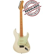 Guitarra Strato Tagima Woodstock TG-530 Olimpic White (Branco Vintage)