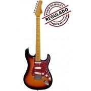 Guitarra Strato Tagima woodstock TG-530 Sunburst | Regulada