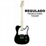 Guitarra Strinberg Tc120 Telecaster Black | Regulada