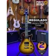 Guitarra Washburn WINDLXFVSB Flame Vintage SunBurst Regulada