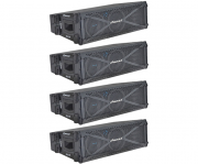 Kit 04 Caixas Ativa Line Array Oneal 2060