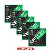 Kit 5 Encordoamento NIG N420 010 P/ Violão Aço