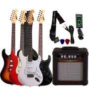 Kit Guitarra Tagima Memphis MG32 + Cubo Amp Oneal + Afinador + Correia + Capa