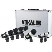 Kit Microfone Bateria Vokal VDM7 7 Peças
