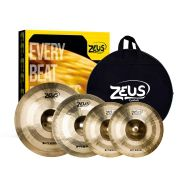 Kit Pratos Zeus Hybrid Set C Hi-Hat 14 Crash 16 Ride 20