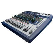 Mesa De Som Analogica Soundcraft Signature 12