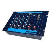Mesa De Som Oneal OMX4 Compact Mixer 4 Canais P10
