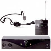Microfone Akg Sem Fio Headset Perception Pw Sport