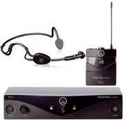 Microfone Akg Sem Fio Headset Perception Pw 45 Sport