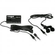 Microfone Yoga EM6 Lapela C/ 2 Capsulas