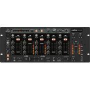 Mixer Nox Behringer Para Dj Usb Bivolt 8 Elementos Nox1010