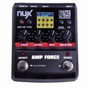 Pedal Amp Simulador Nux Amp Force