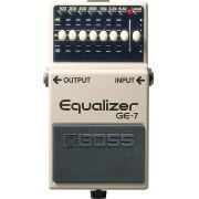 Pedal Equalizador Boss Ge7 Graphic Equalizer de 7 Bandas