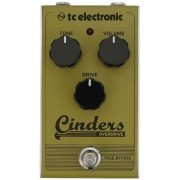 Pedal TC Electronic Cinders Overdrive P/ Guitarra