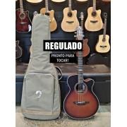 Violão Elétrico Aço Artistic Strinberg SA200C Honey Burst + Bag Premium