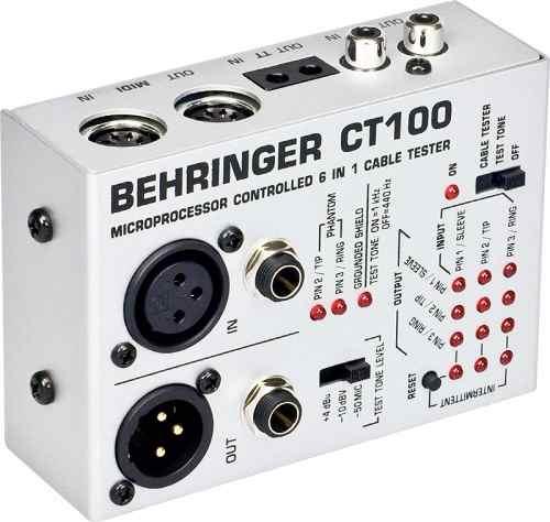 Testador De Cabos Behringer CT100
