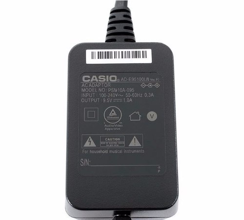 Fonte Casio AD-E95100L 9,5v Original P/ Teclado