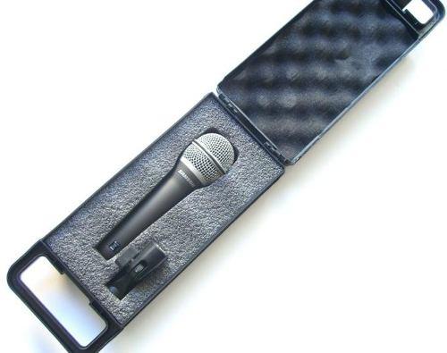 Microfone Samson Q7 Dinamico Vocal Com Case