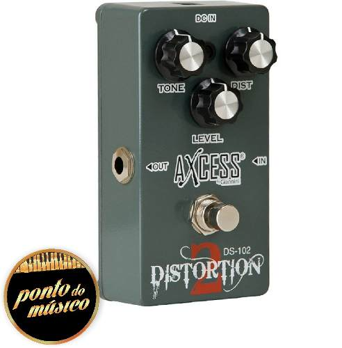 Pedal De Guitarra Ds102 Distortion 2 Axcess Giannini