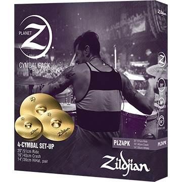 Kit Pratos Zildjian Planet Z Set 14 14 16 20 Original