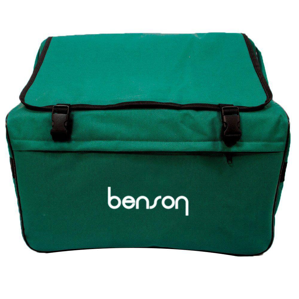 Acordeon 80 baixos Benson BAC80-7PBK preto, 9 registros