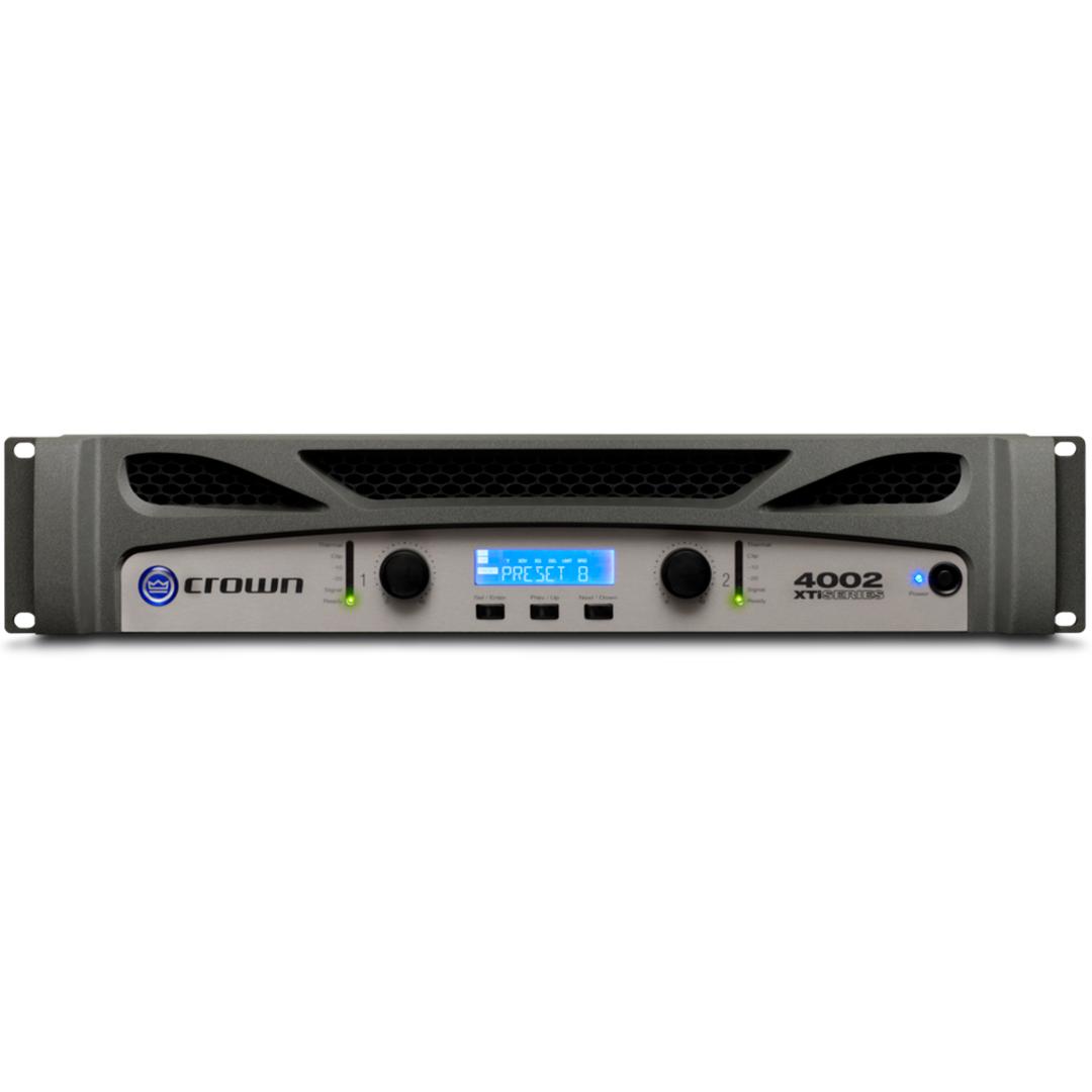 Amplificador De Potência Crown Xti 4002 UBR