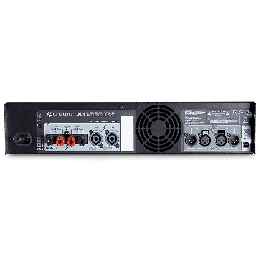 Amplificador De Potência Crown Xti 4002 3200w